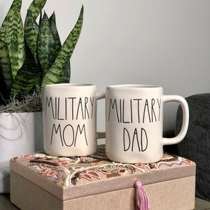 Rae Dunn Artisan Military Mom & Dad Bundle NWT